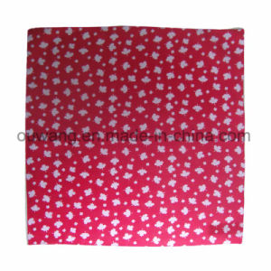 Outdoor Scarf Square Red Promotional Bandana 100% Cotton pictures & photos