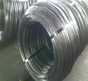 Bright Black Hard Wire /Cold Drawn Q195 Wire Rod pictures & photos