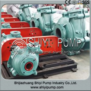 Tailings Delivery Heavy Duty Wear Resistant Horizontal Water Treatment Slurry Centrifugal Pump pictures & photos