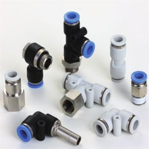 New Design Y Type Three Way Push in Tube Fittings with Good Quality pictures & photos