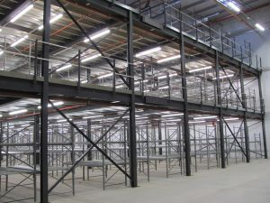Industrial Prefabricated Steel Structural Mezzanine Flooring pictures & photos