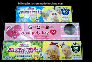 HDPE Gift Bag Plastic Rolled Bag Food Bag Bread Bag pictures & photos