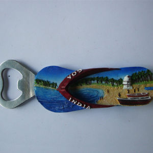 Cheap Price Resin Indian Bottle Opener Fridge Magnet pictures & photos