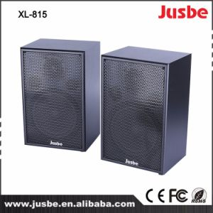 Pair Wholesale 8 Inch 60W Passive Speaker System Wooden Loudspeaker pictures & photos