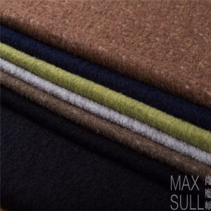 Wool/Polyester Fabric with Good Elasticity for Autumn in Navy pictures & photos