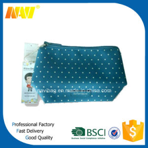 Digital All Sides Printing Genuine Leather Cosmetic Bag pictures & photos