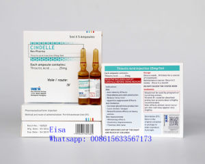 Thioctic Acid Injection for Skin Beauty Anting Aging 25mg/5ml pictures & photos