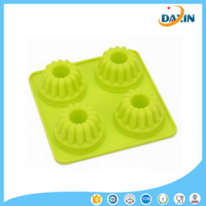 New Design DIY Food Grade Heat Resistant Silicone Cake Mold pictures & photos