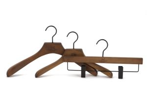 Luxury Clothes Wooden Hanger for Suit pictures & photos