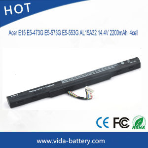 Battery Charger/Rechargeable Battery for Acer E15 E5-473G E5-573G E5-553G Al15A32 Power Bank pictures & photos