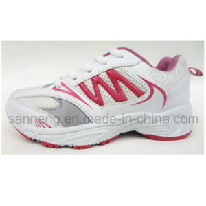 Kids Athletic Footwear with PVC Injection Outsole (S-0140) pictures & photos