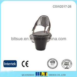 Hot Sale Alegria Top Quality Leather Upper Wedges Shoes pictures & photos