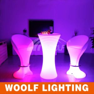 LED Bar Coffee Bar Table with Color Change for Party pictures & photos