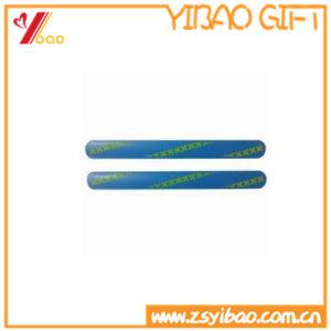 Custom Colorful Sport Silicone Slap Bracelets pictures & photos