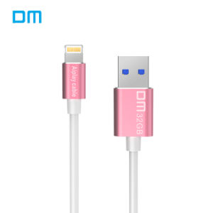 Dm USB Flash Drive and Cable 2 in 1 for iPhone iPad External Storage USB 3.0 pictures & photos