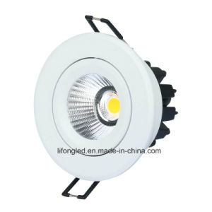 High Quality 9W Modern Recessed Ceiling COB Dimmable LED Downlight pictures & photos