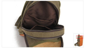 Redswan Leather Canvas Designer Chest Bag (RS-2107) pictures & photos