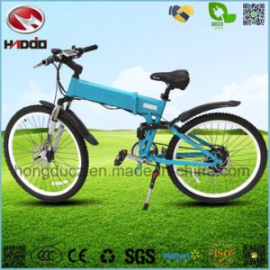 Front and Rear Suspension Electric Mountain Bike with LCD Display pictures & photos