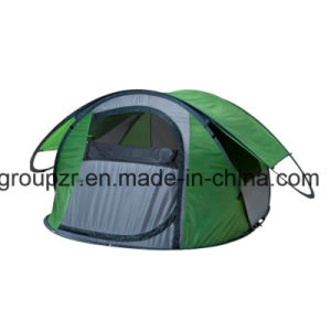Single Layer Pop up Camping Tent for 3 Persons pictures & photos