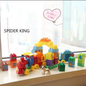 Children Plastic Number Train Blocks Toy pictures & photos