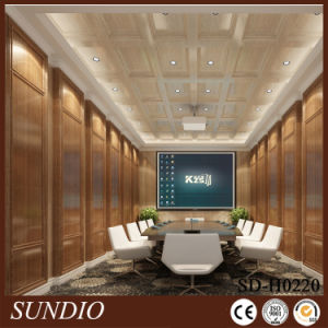 2016 Sundio New Lamianted WPC Panel and Wall Ceiling pictures & photos