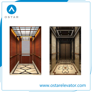 Home Elevator Cabin with Wooden and Mirror Design pictures & photos