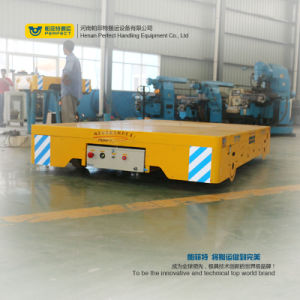 Free Turning Motorized Trackless Die Transport Vehicle pictures & photos