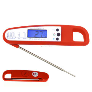 Digital Instant Read Food Meat Thermometer/Digital Electronic BBQ Thermometer pictures & photos