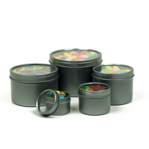 Mini Candy Mints Tin Box with Window pictures & photos