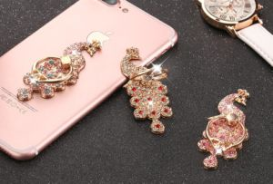 Diamond Bling Universal Pad Phone Holder Finger Ring 360 Stand pictures & photos
