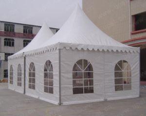 Aluminum High Peak Outdoor Leisure Waterproof Anti-UV Pagoda Tent pictures & photos