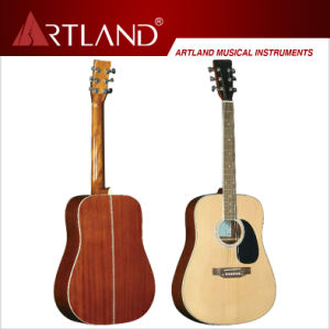 Spruce Top Sapele Back&Side Acoustic Guitar (AG4113) pictures & photos