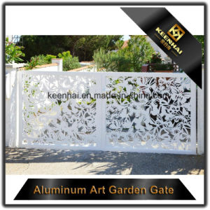 Laser Cut Villa Aluminum Entrance Door pictures & photos