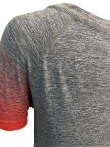 Women′s Short Sleeve Seamless Shirt pictures & photos