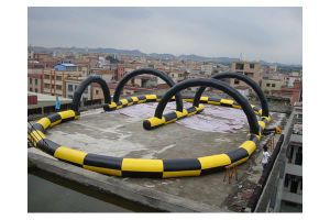 Commercial Outdoor Inflatable Go Kart Racing Track for Sporting Events pictures & photos