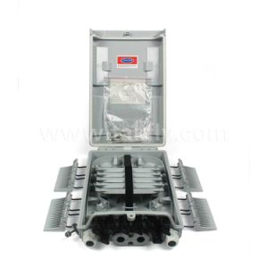 Waterproof 8 Cores 5.0mm Drop Cable Fiber Optic Splice Box/Terminal Box pictures & photos