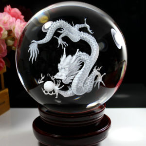 3D Laser Engraving Image Crystal Glass Cube for Souvenirs pictures & photos