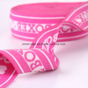 High Elastic Nylon Webbing Mashine Woven Jacquard for Garment pictures & photos