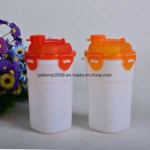 OEM Plastic Shaker Water Bottle with Tea Infuser for Promotional Gift pictures & photos