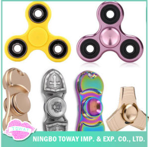 Relieve Stress Fidget Toys Colorful Hand LED Fidget Spinner pictures & photos