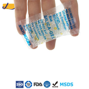 DMF Free Desiccant ISO Factory Silica Gel Absorbent for Footwear pictures & photos