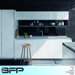 Kitchen Joinery Lacquer Matt Finish Pure White Color pictures & photos