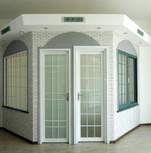 Woodwin Double Tempered Glass Thermal Break Aluminum Casement Door/ French Door pictures & photos