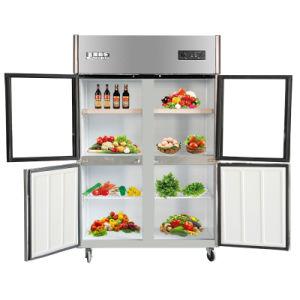 Four Doors Kitchen Refrigerator with Detachable Door Seal pictures & photos