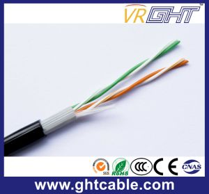 Telecommunication Cable 2 Pair Telephone Cable Cat3 pictures & photos