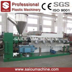 PP PE Force Feeder Flakes Recycling Granulator pictures & photos