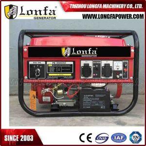 2kw 3kw Gasoline /Petrol and Kerosene Mutifuel Portable Generator pictures & photos