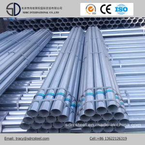 Pre-Galvanized Gi Steel Pipe in Stock with 6m Length pictures & photos