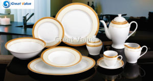 47PCS Round New China Products Unique Ceramic Dinner Set for Sale pictures & photos