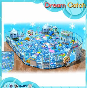 Ice Snow Theme Chidlren Soft Indoor Naughty Castle Playground pictures & photos